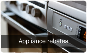 Appliance rebate