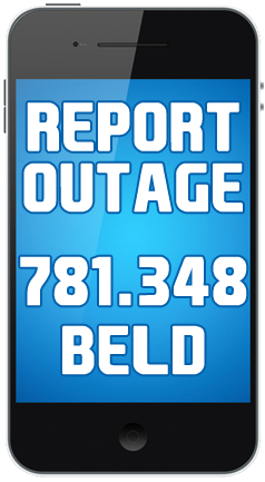 report outage